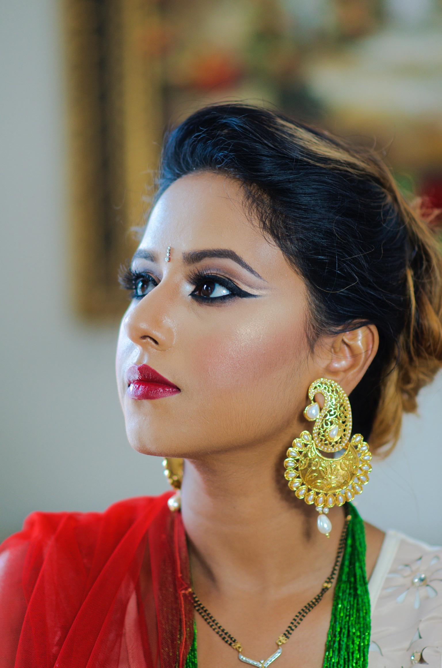 HINDU FESTIVAL (TEEJ) MAKEUP LOOK – Indian Bridal Makeup ...